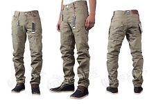 BRAND NEW MENS ETO EM380 STONE COLOUR STRAIGHT LEG JEANS > SPECIAL OFFER <