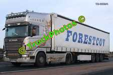 Truck Photo TR-00854 Scania  Reg:- B515LKW Op:- Forestcov M20 Dover Lorry Kent
