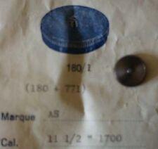 AS CAL. 1700  FEDERHAUS KOMPLETT MIT WELLE UND FEDER  PART No. 180/1  ~NOS~