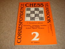 CORRESPONDENCE CHESS YEARBOOK 2 Gruenfeld-Hungarian Variation, King's Indian, Si