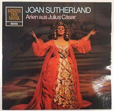 """LP Vinyl 12"""" VG Joan Sutherland Arien Julius Ceasar Handel Decca SMD 1245 378DA"""