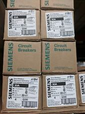 Siemens Q330 (Box of 4) 30A 3-Pole QP Circuit Breakers BRAND NEW with Warranty