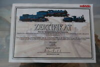 Märklin HO/AC 31806 Original Zertifikat (DA/54-19S2)