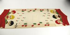 Vintage 1940s - 50s Christmas Felt and Sequin Table Runner - Reworked