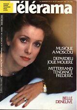 Mag 1984: CATHERINE DENEUVE_FRANCOISE GIROUD_FREDERIC MITTERAND_MILAN KUNDERA