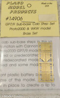 Plano Model Products HO #14906 GP7/9 Sub-base Cab Step Set Proto2000 & WKW model