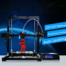 Tronxy X3A DIY Auto Leveling Large Size 220x220x300mm LCD Screen Hot 3D Printer