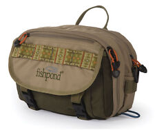 Fishpond Blue River Chest Pack Fly Fishing Khaki Sage Green