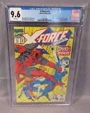 X-FORCE #11 (Domino 1st app, Deadpool cover) CGC 9.6 NM+ Marvel Comics 1992