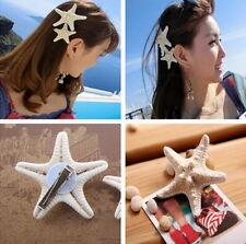 Starfish Beach Fashion Womens Girls Pretty Sea Star Hairpin Hair Clip A