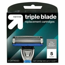 Up & Up Triple Blade Replacement Cartridges Razor Refills 5 Count