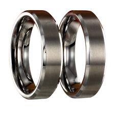 2 Wolframringe + gratis Innengravur Verlobungsringe Eheringe Trauringe 24100