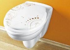 WENKO Toilettensitze mit abstraktem Muster