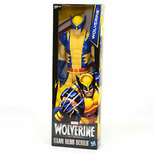 "Hasbro Marvel Wolverine Titan Hero Series 12"" Inch Action Figure Dmg pkg"