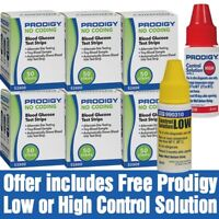 Blood Glucose Test Strips | 300 strips | Free Control Solution| Expires Nov 2020