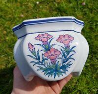 Small Vintage Pottery Ceramic Plant Pot Planter