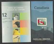 CANADA  - 2  MINT/NEVER HINGED MODERN BOOKLETS - FACE 10.52    SEE SCAN!