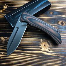 Ka-Bar 3066 Mark 98 Black/Brown G10 Handle Stainless Flipper Folding Knife New