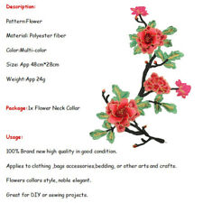 New listing Peony Lace Bouquet Flower Embroidery Iron On Applique Patch Sewing Diy Np2Z