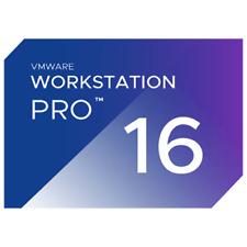 VMware Workstation Pro 16 - key for Windows