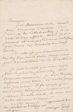 George SAND - Lettre autographe signée à Léon CURMER