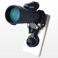 Mobile Phone Telescope Bracket Adapter Mount Suction Cup Holder for iPhone