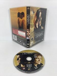 The Thomas Crown Affair DVD Movie - Pierce Brosnan - FREE TRACKED POST!