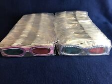 50 Pairs (100) Original Movie House Sharkboy and Lavagirl 3D Glasses Sealed