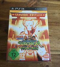 NARUTO SHIPPUDEN ULTIMATE NINJA STORM REVOLUTION SAMURAI Collector Neuf PS3 FR