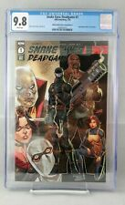 SNAKE EYES DEADGAME #1 CGC 9.8 ROB LIEFELD NEW MUTANTS HOMAGE RE VARIANT COVER