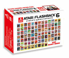 Atari AR2680 Plug 'n Play Flashback 6 Classic Game Console W/ Built-in 100 Games