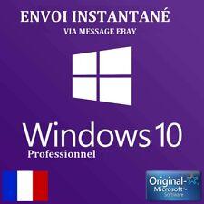 Windows 10 Pro Professionnel Licence Clé Activation En Ligne Envoi INSTANTANÉ