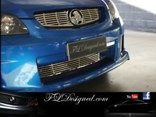 Holden VE Series 1 Polished Stainless Steel FLD Slat Grill