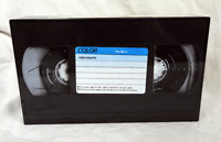 Retro Video Cassette Design Hinged Lidded Tin - BNWT