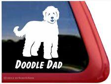 Doodle Dad | Goldendoodle Labradoodle Vinyl Dog Window Decal Sticker