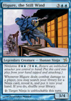 1x Higure, the Still Wind LP, English MTG Betrayers of Kamigawa