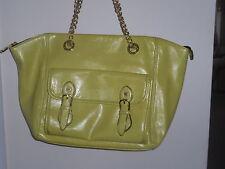 Steve Madden Large Yellow Lemon Tote Bag FREE SHIP