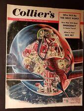 Collier's Magazine  March 14, 1953  Man's Survival in Space Wernher von Braun