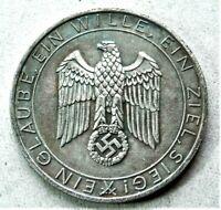 WW2 GERMAN COMMEMORATIVE COLLECTORS REICHSMARK COIN ...