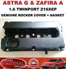 VAUXHALL ASTRA G ZAFIRA A 1.6 TWINPORT CAM ROCKER COVER + GASKET Z16XEP 55556284
