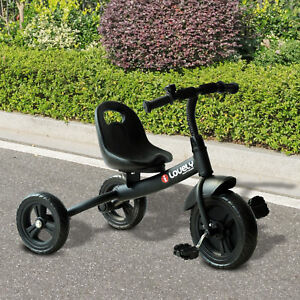 HOMCOM Baby Kids Children Toddler Tricycle Ride on Trike 3 Wheels Safety Black