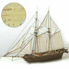 Ship Assembly Model DIY Kits Wooden Sailing Boat Decoration Wood Kids Toy Gift