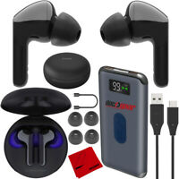 LG TONE Free HBS-FN6 True Wireless Bluetooth Earbuds +UVnano Charger Case Bundle