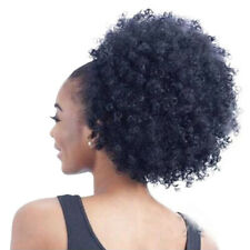 High Puff Afro Curly Wig Ponytail Drawstring Short Afro Kinky Pony Tail Clip in
