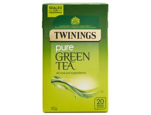 Twinings Green Tea - Various varieties including fruit and decaffeinated