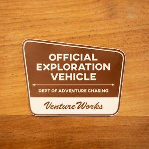 Toyota Overland Sticker decal Tacoma 4Runner Tundra Land Cruiser National Parks