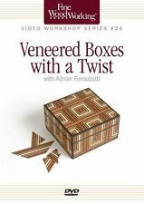 Fine Woodworking Video Workshop Series - Veneered Boxes with a Twist (DVD Video)