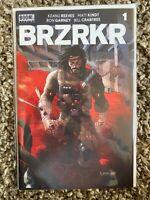 BRZRKR (BERZERKER) #1 1:50 R GRAMPA VARIANT Keanu Reeves BOOM - FREE SHIPPING
