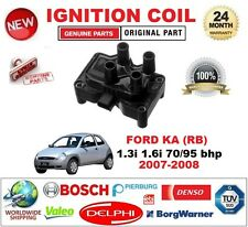 FOR FORD KA RB 1.3i 1.6i 70/95 bhp 2007-2008 IGNITION COIL 3-PIN PLUG TYPE M4