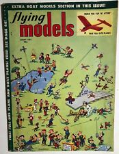 FLYING MODELS Magazine August 1953 Fixit Wright Golden Age comic strip